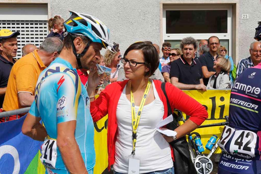 Giulia De Maio Michele Scarponi, Trentino 2014
