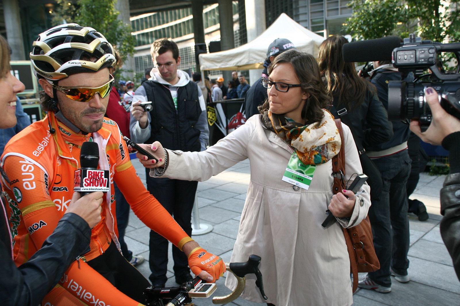 Giulia De Maio Samuel Sanchez Lombardia ciclismo