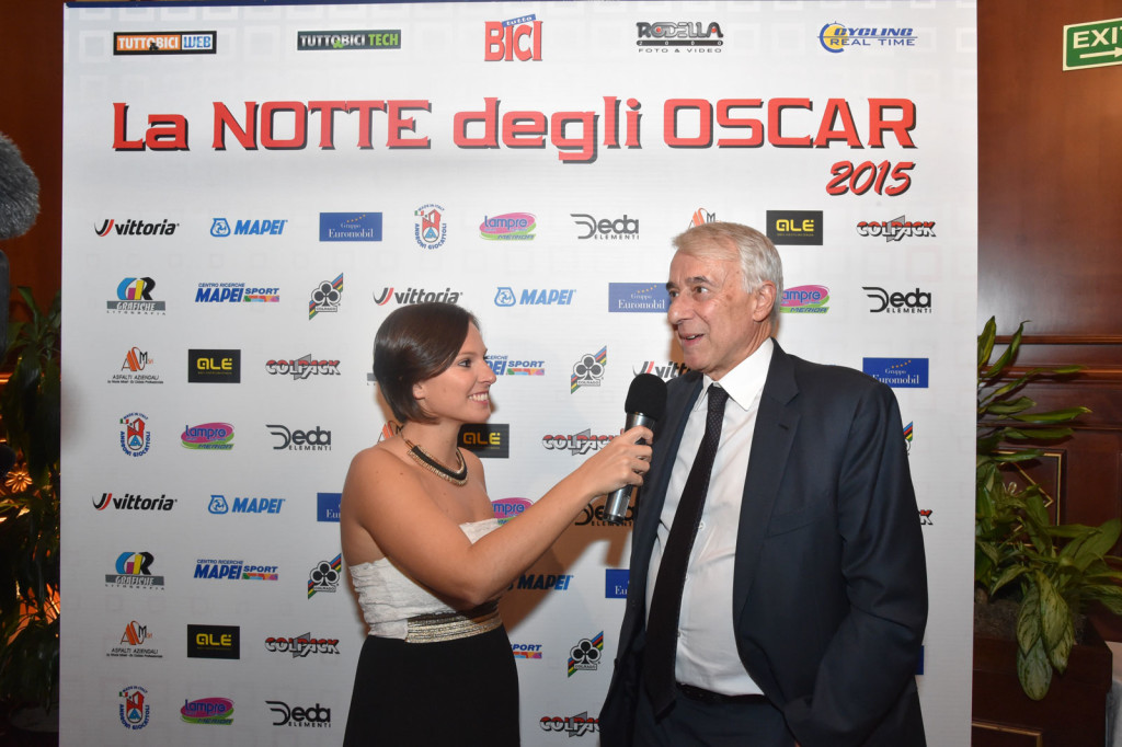 Giuliano Pisapia Giulia De Maio tuttoBICI giornalista ciclismo