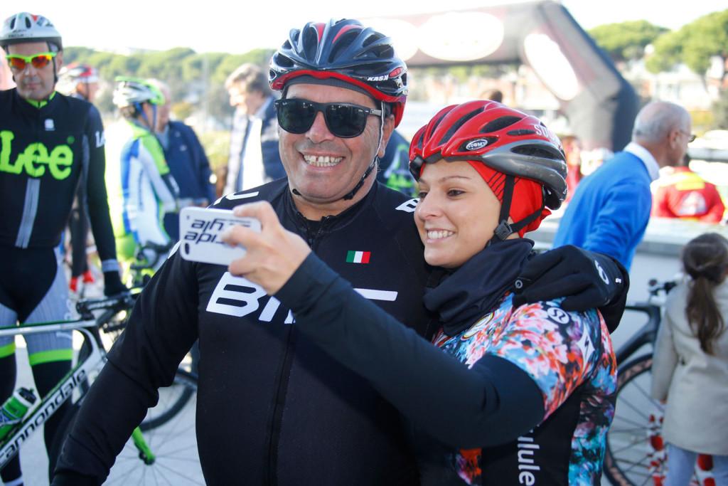 Giulia De Maio con Riccardo Magrini