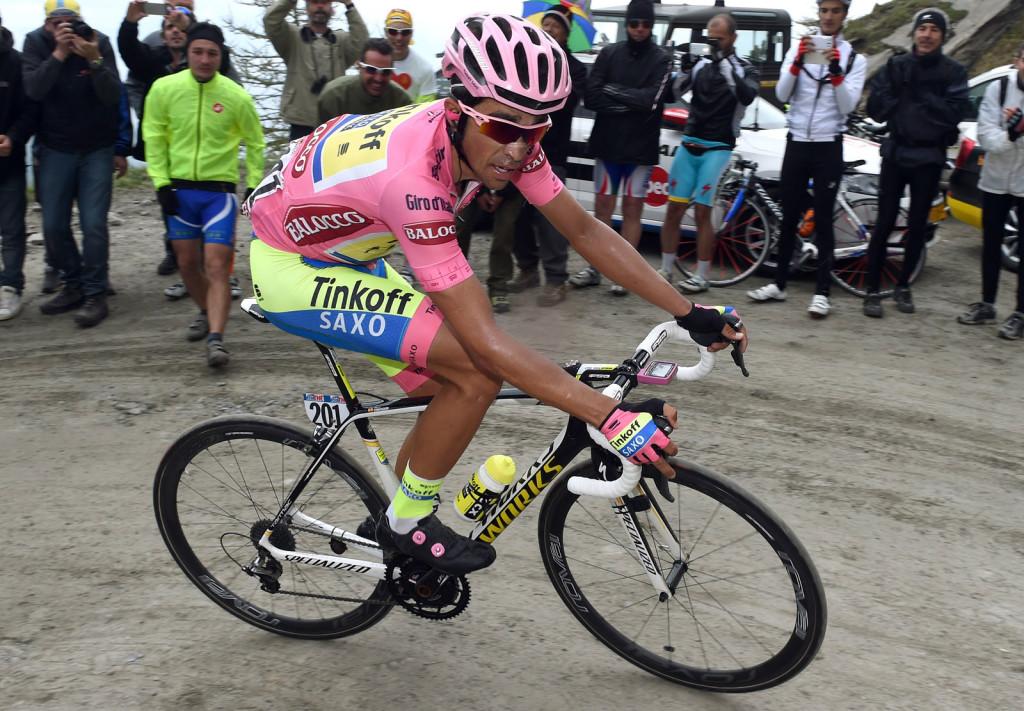 Alberto Contador Giro d'Italia 2015