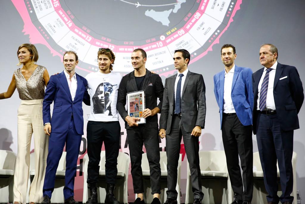 Presentazione Giro d'Italia 2016 Expo Milano