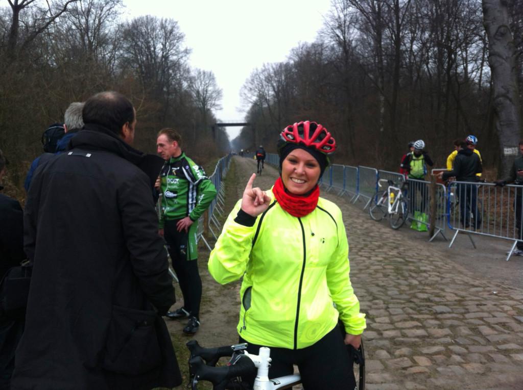 Parigi Roubaix Giulia De Maio tuttoBICI giornalista ciclismo