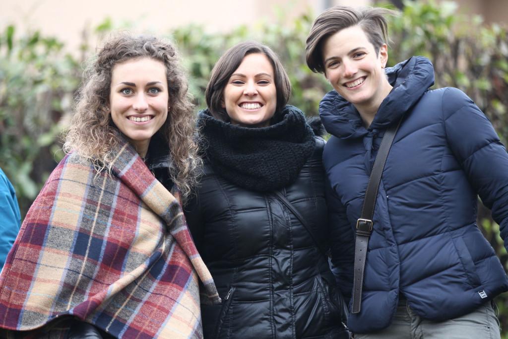 Giulia De Maio, Alice Arzuffi, Maria Giulia Confalonieri