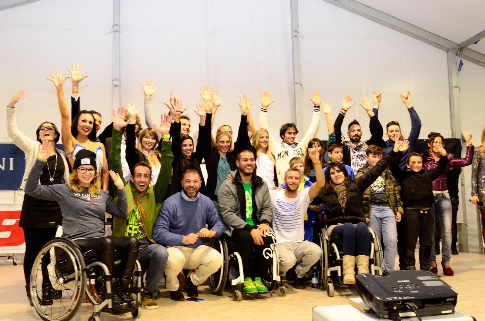 campioni I Am Doping Free Ottobiano Sport Show 2015 Marina Romoli Onlus