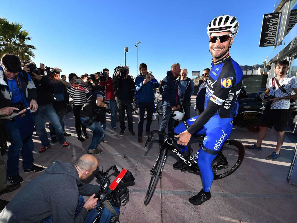 Tom Boonen, Etixx Media Day