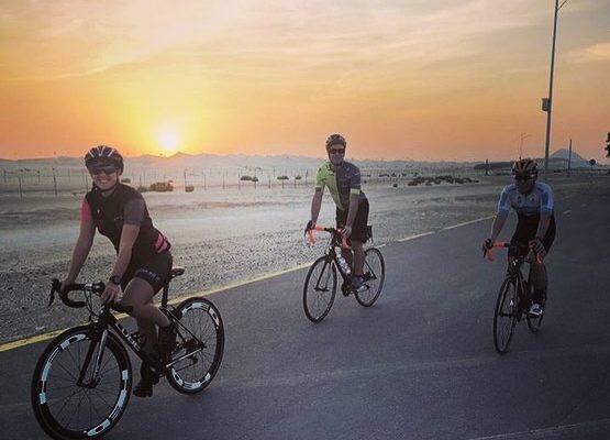 giulia de maio ciclismo deserto abu dhabi